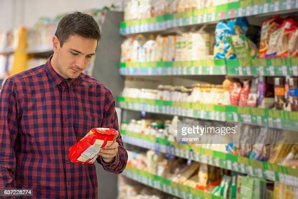 Snacks shopping