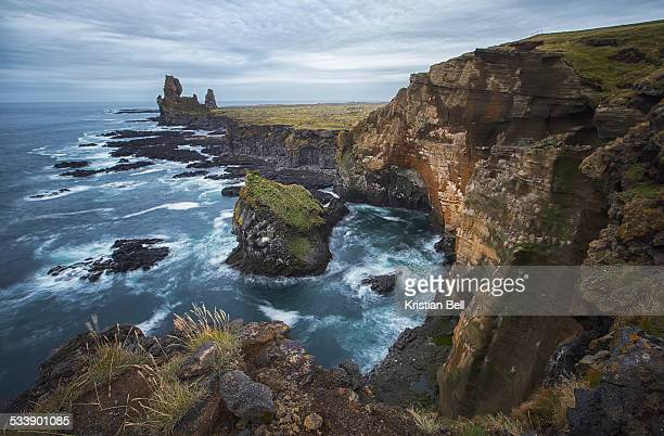 Snaefellsnes Peninsula coastline, Iceland