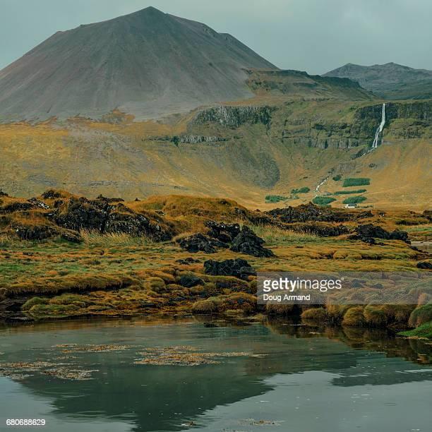 Snaefellsnesvegur peninsula in West Iceland