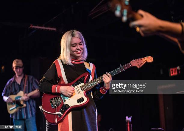 Snail Mail performs a sold out show at the Black Cat