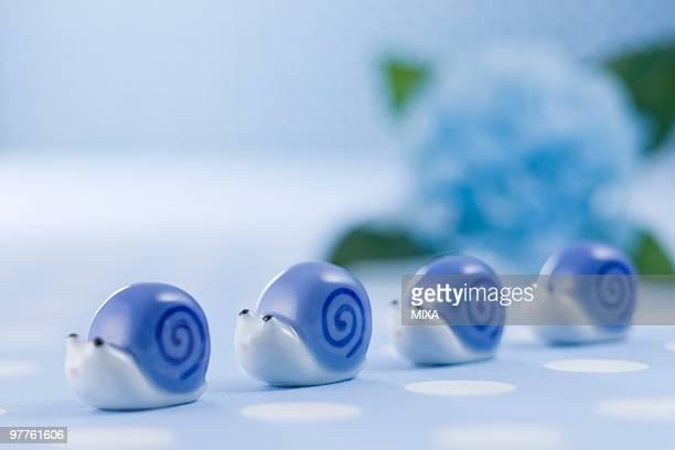 Snail ornament