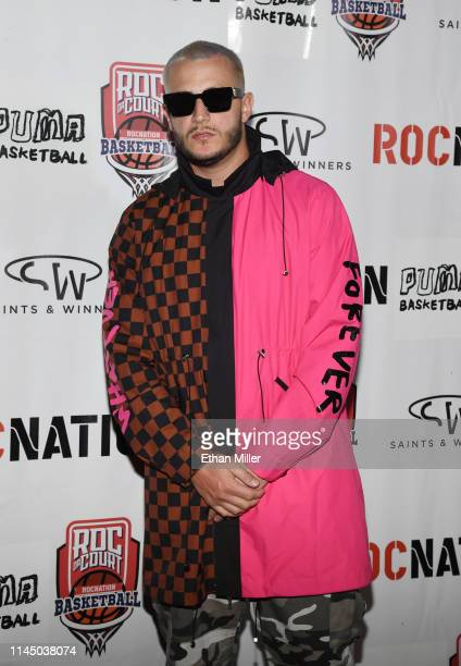 Snake arrives at Roc Nation's Roc da Court allstar basketball game benefiting the Boys Girls Clubs of Southern Nevada at Tarkanian Court on April 24...