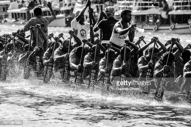 snake boat race of kerala - religious celebration stock pictures, royalty-free photos & images