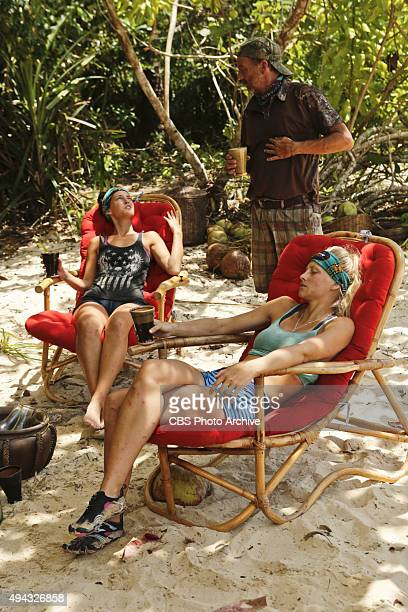 A Snake In The Grass Ciera Eastin Keith Nale and Kelley Wentworth during the fifth episode of SURVIVOR Wednesday Oct 21 The new season in Cambodia...
