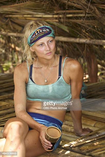 A Snake In The Grass Kelley Wentworth during the fifth episode of SURVIVOR Wednesday Oct 21 The new season in Cambodia themed Second Chance features...