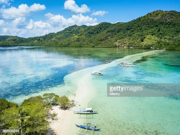 Snake Island Sandbar Vigan Island El Nido Palawan Philippines