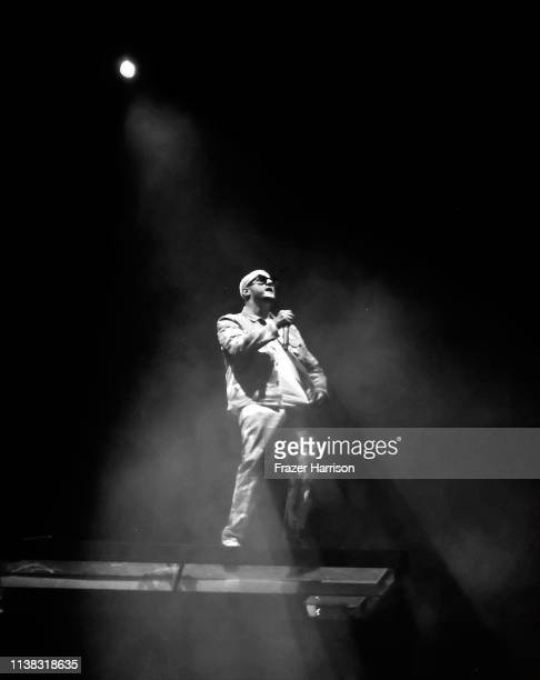 DJ Snake performs at Outdoor Theatre during the 2019 Coachella Valley Music And Arts Festival on April 19 2019 in Indio California