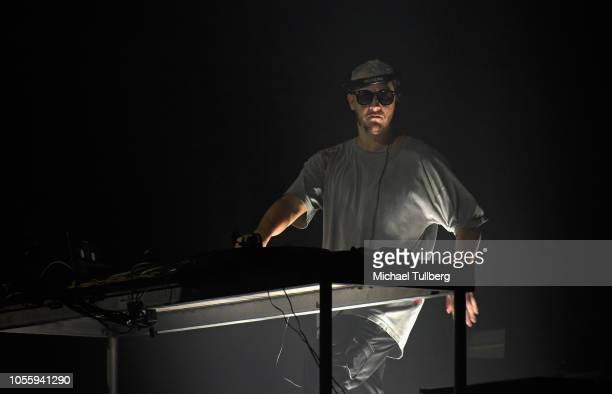Snake performs at The Shrine Auditorium on October 31 2018 in Los Angeles California