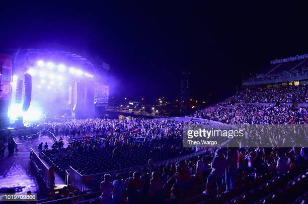 Snake performs onstage during Day 2 of Billboard Hot 100 Festival 2018 at Northwell Health at Jones Beach Theater on August 19 2018 in Wantagh New...