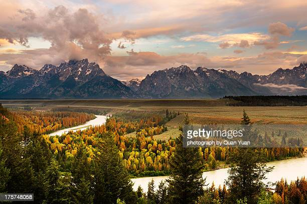 snake river overlook - yuan quan stock pictures, royalty-free photos & images