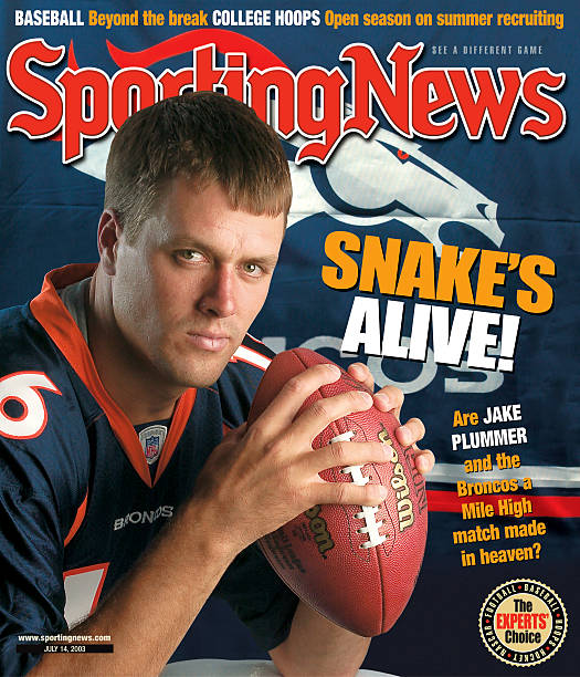 Nfl Covers Denver Broncos Qb Jake Plummer July 14 2003