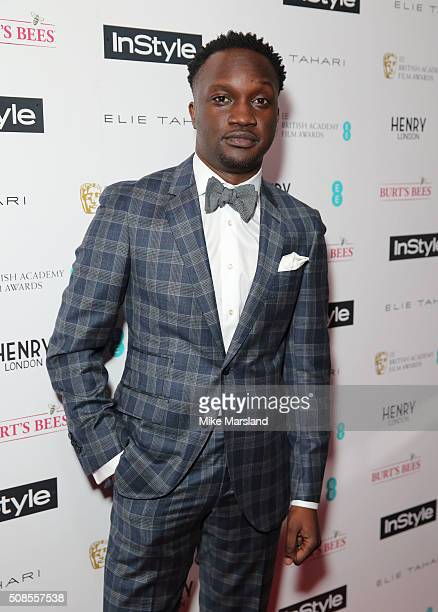 Snakeyman attends the InStyle EE Rising Star PreBAFTA Party at 100 Wardour Street on February 4 2016 in London England