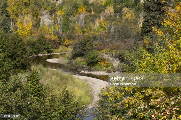 snaking river - conor stock pictures, royalty-free photos & images