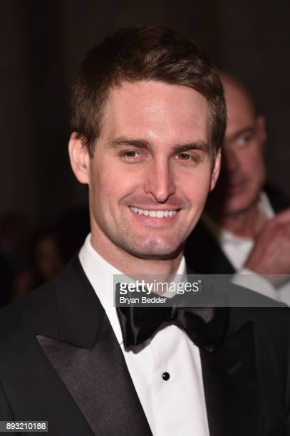 Snap Inc Founder Evan Spiegel attends the Berggruen Prize Gala at the New York Public Library on December 14 2017 in New York City