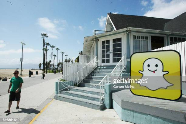 Snapchat's company's offices in Venice are photographed for Los Angeles Times on May 6 2013 in Venice California PUBLISHED IMAGE CREDIT MUST READ...