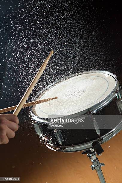 Snare Drum Water Splash