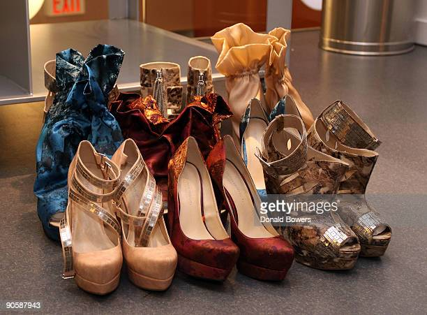 A sneak peek of Christian Siriano's Spring '10 Runway Collection at Payless ShoeSource on September 10 2009 in New York City