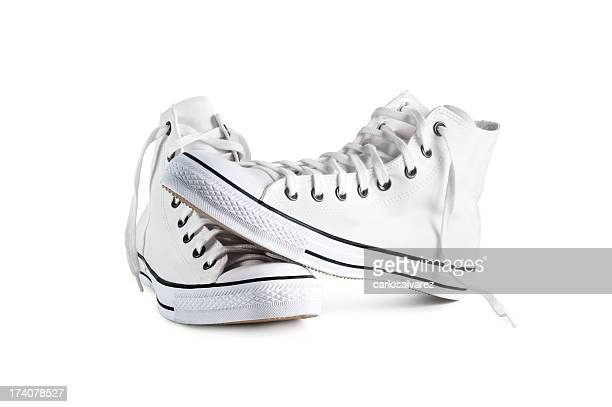 Sneakers isolated with clipping path