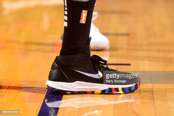 Sneakers of Alex Bentley of the Connecticut Sun seen during game against the Phoenix Mercury on July 5 2018 at Talking Stick Resort Arena in Phoenix...