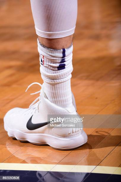 Sneakers of Alex Len of the Phoenix Suns during game against the Toronto Raptors on December 13 2017 at Talking Stick Resort Arena in Phoenix Arizona...