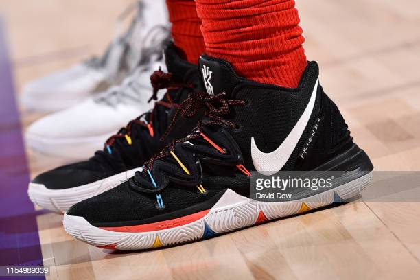 Sneakers of Daniel Gafford of the Chicago Bulls on July 10 2019 at the Cox Pavilion in Las Vegas Nevada NOTE TO USER User expressly acknowledges and...