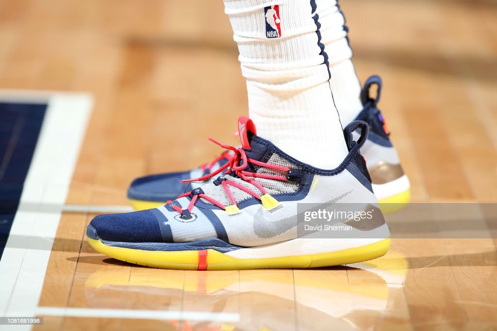 Sneakers Of Elfrid Payton Of The New Orleans Pelicans On January 12
