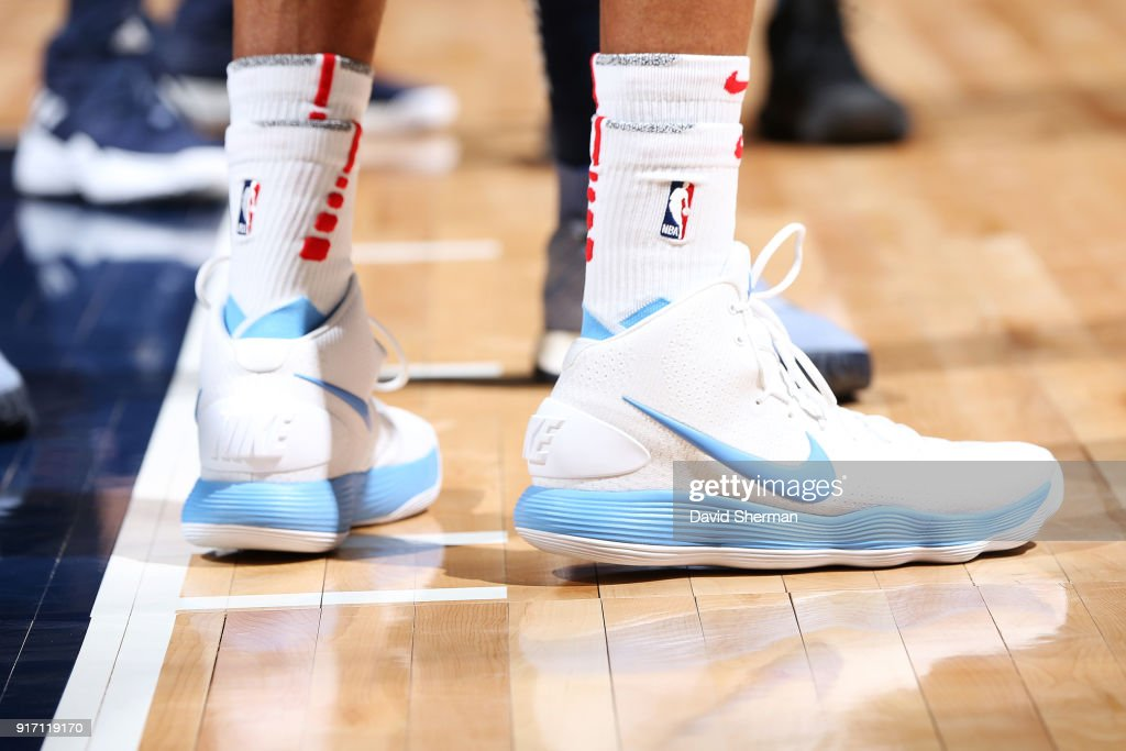 f9d2f12a6d9300 Sneakers of Vince Carter of the Sacramento Kings during the game ...