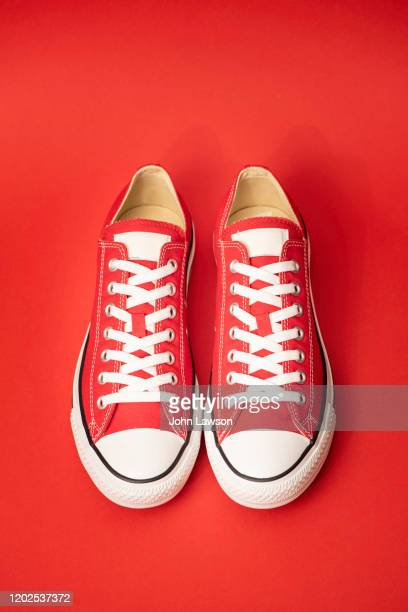 sneakers - footwear stock pictures, royalty-free photos & images