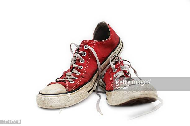 sneakers - sports shoe stock pictures, royalty-free photos & images