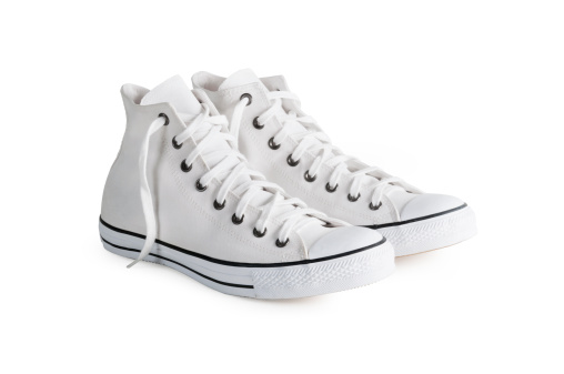 Sneakers with clipping path 175537625