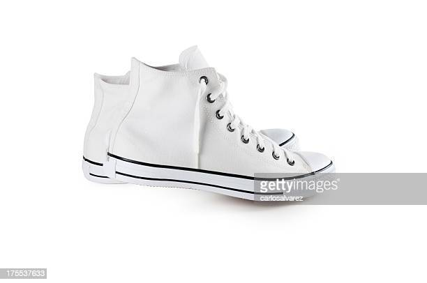 Sneakers with clipping path