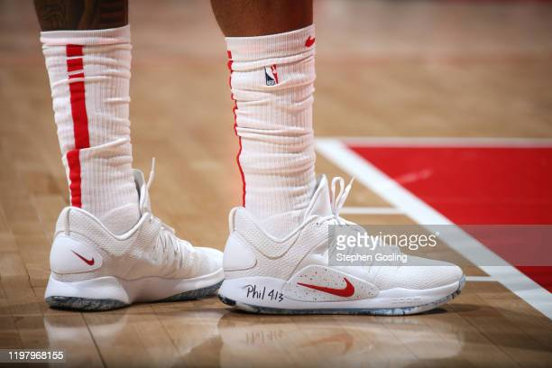 Sneakers worn by Bradley Beal of the Washington Wizards against the Brooklyn Nets on February 1 2020 at Capital One Arena in Washington DC NOTE TO...