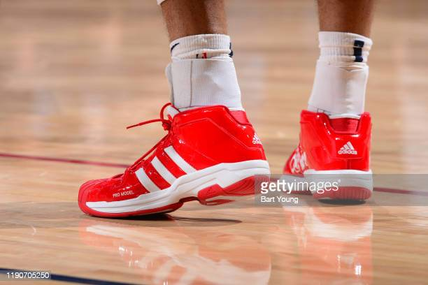 Sneakers worn by Jamal Murray of the Denver Nuggets against the Memphis Grizzlies on December 28 2019 at the Pepsi Center in Denver Colorado NOTE TO...