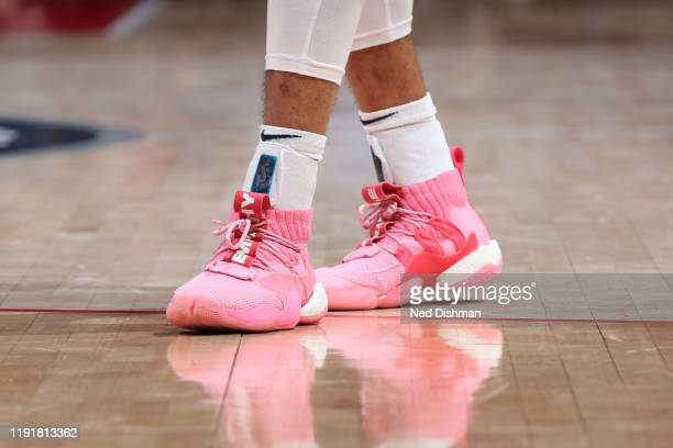 Sneakers worn by Jamal Murray of the Denver Nuggets against the Washington Wizards on January 4 2020 at Capital One Arena in Washington DC NOTE TO...
