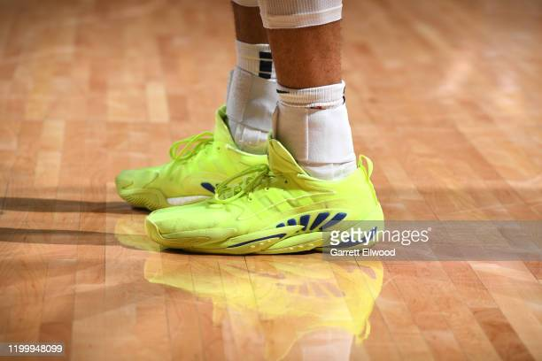 Sneakers worn by Jamal Murray of the Denver Nuggets against the San Antonio Spurs on February 10 2020 at the Pepsi Center in Denver Colorado NOTE TO...