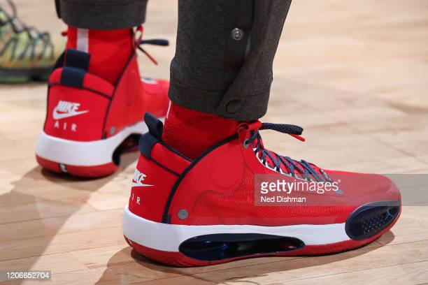 Sneakers worn by Rui Hachimura of the Washington Wizards on March 10 2020 at Capital One Arena in Washington DC NOTE TO USER User expressly...