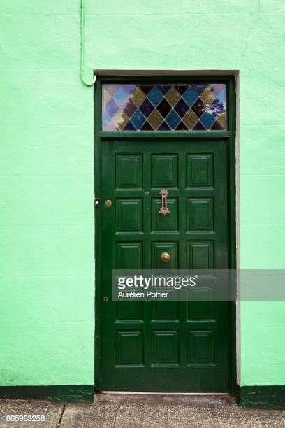 Sneem, The green front door