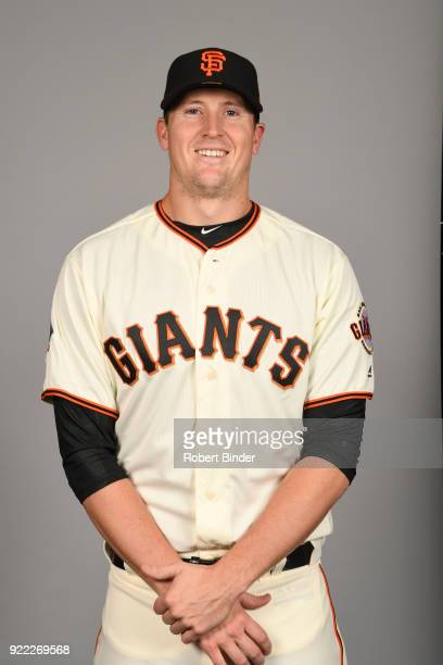 Snelten of the San Francisco Giants poses during Photo Day on Tuesday February 20 2018 at Scottsdale Stadium in Scottsdale Arizona