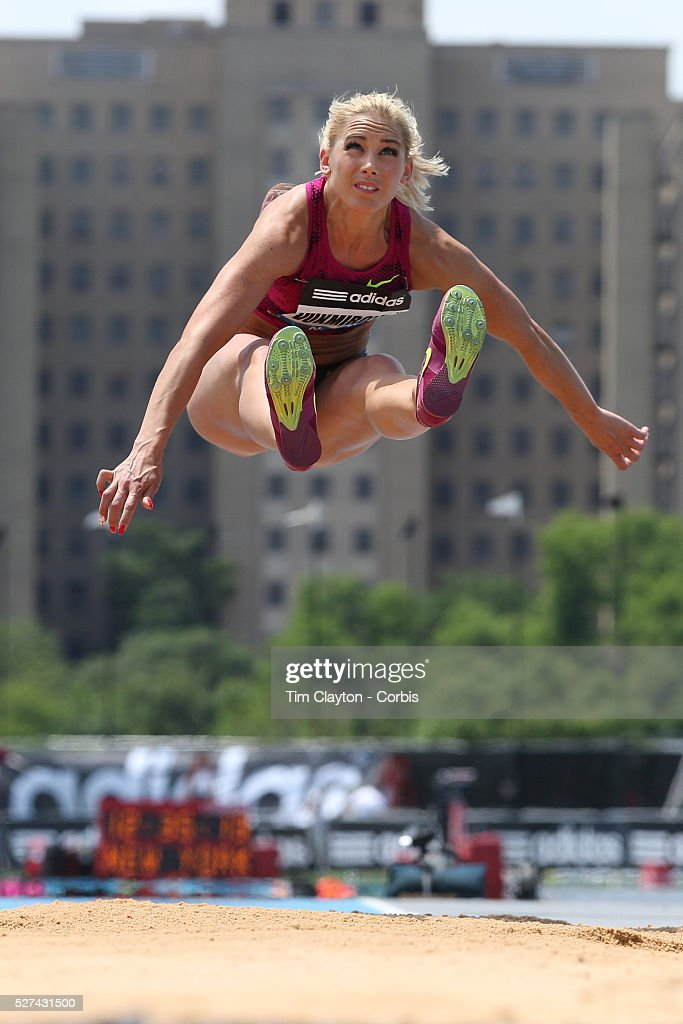 Snezana Vukmirovic, Slovenia, in action during the Women's Triple Jump  competition during the Diamond