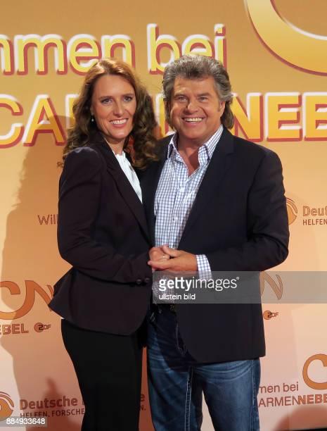 Sänger Andy Borg und Ehefrau Birgit aufgenommen bei der TV Show Willkommen bei Carmen_Nebel im Velodrom in Berlin Prenzlauer Berg