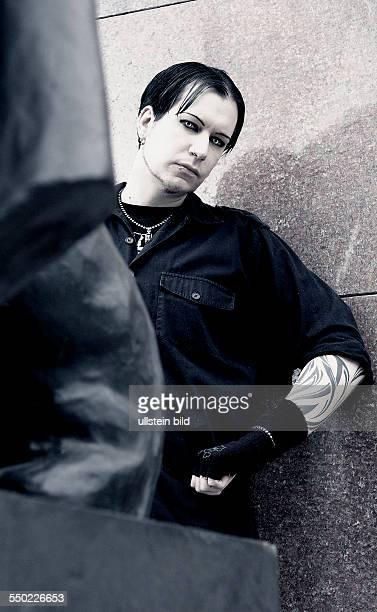Sänger Chris Pohl in Berlin