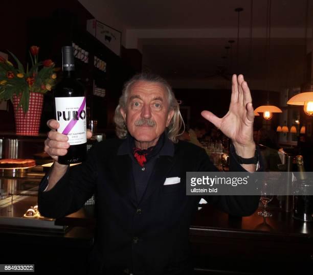 Sänger Dieter Meier aufgenommen bei der Eröffnung vom Restaurant Ojo de Agua Wine & Beef Kontor von Musiker und Gastronom Dieter Meier in Berlin...