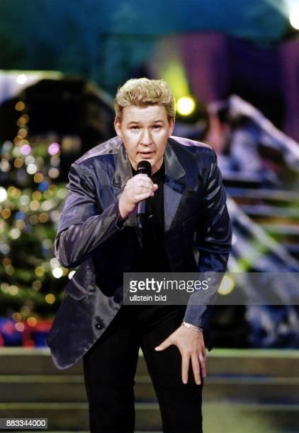 Sänger; Irland - bei einem Auftritt im Friedrichstadtpalast in Berlin