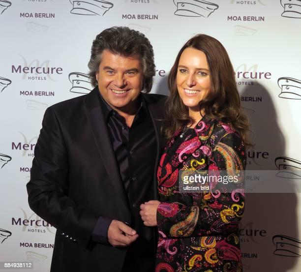 Sänger Sänger Andy Borg und Ehefrau Birgit aufgenommen bei der Verleihung vom Smago Award im Hotel Mercure Moa in Berlin Moabit