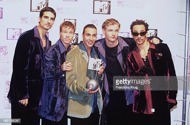 Sängergruppe Backstreet Boys Bei Mtv Europe Music Awards In Rotterdam
