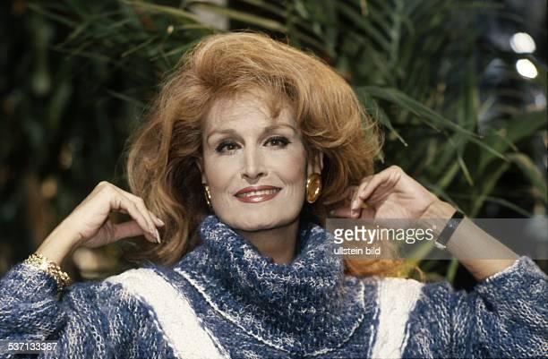 Sängerin Frankreich Porträt 1985