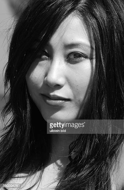 Sängerin JiIn Cho am Rande des MeraLuna Festivals in Hildesheim