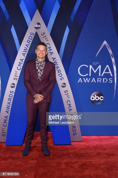 Sngersongwriter Kane Brown attends the 51st annual CMA Awards at the Bridgestone Arena on November 8 2017 in Nashville Tennessee