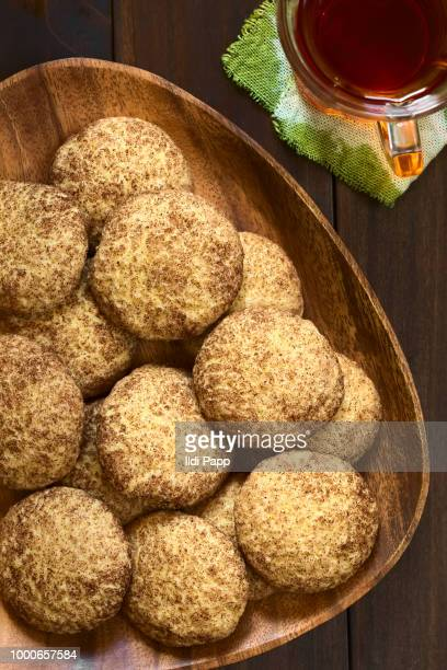 snickerdoodle cookies - snickerdoodle stock pictures, royalty-free photos & images