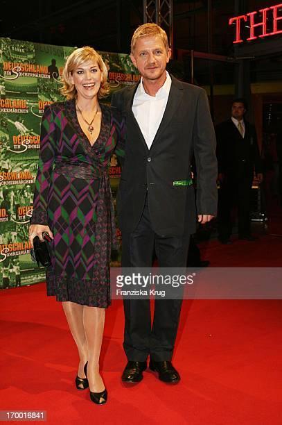 Sönke Wortmann and wife Celia At The Premiere Of The Film Of Cinema S Wortmann 'Germany A Summer Fairytale' on 031006